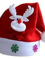 baratos -Natal Férias Tecido Quadrada Novidades Decoração de Natal