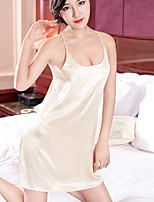 cheap -Women's Suits Nightwear - Backless, Solid Colored