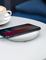 Недорогие -рекламный hq-s 10w быстрый qi беспроводной мобильный / мобильный телефон зарядное устройство / порт питания / пэд / станция / зарядное устройство для iphone / samsung / nokia / motorola / sony / huawe