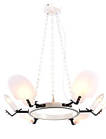 cheap -ZHISHU 6-Light Circular / Sputnik / Novelty Chandelier Ambient Light - Mini Style, Creative, New Design, 110-120V / 220-240V Bulb Not Included
