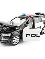 Недорогие -Игрушечные машинки Полицейская машинка внедорожник Транспорт Автомобиль Вид на город Cool утонченный Металлический сплав Детские Для подростков Все Мальчики Девочки Игрушки Подарок 1 pcs