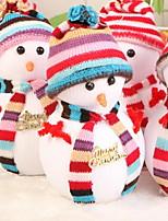 economico -Statuine natalizie / Ornamenti di Natale Vacanza / Cartone animato Stoffa (cotone) Quadrato Originale Decorazione natalizia
