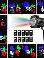 Недорогие -KWB 10 шт. 10 W LED прожекторы Водонепроницаемый / Декоративная / обожаемый Разные цвета 100-240 V Уличное освещение