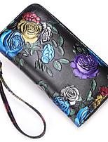 cheap -Women's Bags PU(Polyurethane) Clutch Embroidery / Zipper Blue