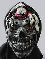 Недорогие -Праздничные украшения Украшения для Хэллоуина Маски на Хэллоуин / Хэллоуин Развлекательный Декоративная / Cool Серый 1шт