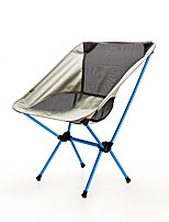 cheap -BEAR SYMBOL Camping Folding Chair Outdoor Lightweight, Rain-Proof, Breathability Oxford Cloth, 7075 Aluminium for Fishing / Hiking / Camping - 1 person Gray