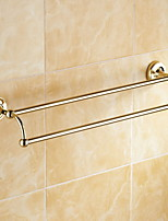 cheap -Towel Bar Multilayer / New Design / Cool Contemporary Brass 1pc Double Wall Mounted