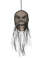 cheap -Holiday Decorations Halloween Decorations Halloween Entertaining / Decorative Objects Decorative / Cool Black 1pc
