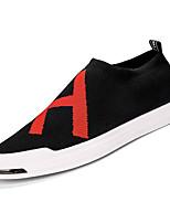 cheap -Men's Mesh Fall Comfort Sneakers Black / Silver / Black / Red