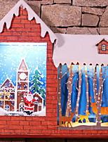 baratos -Ornamentos Férias De madeira de madeira / Novidades Decoração de Natal