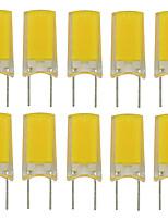 Недорогие -10 шт. 2.5 W 180 lm G8 Двухштырьковые LED лампы T 1 Светодиодные бусины COB Новый дизайн Тёплый белый / Холодный белый 220-240 V