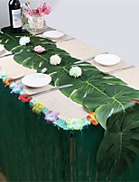 Недорогие -Праздничные украшения Новый год / Рождественский декор Рождественские украшения Для вечеринок / Декоративная / Свадьба Зеленый 12шт