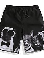 economico -Per uomo Pantaloncini da mare Ultra leggero (UL), Asciugatura rapida POLY Costumi da bagno Abbigliamento mare Boxer da surf / Pantaloni Animali Surf / Spiaggia / Sport acquatici