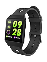 cheap -Smart Bracelet Smartwatch W1 for iOS / Android Waterproof / Touch Screen / Information / Camera Control Pedometer / Call Reminder / Sedentary Reminder