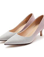 Недорогие -Жен. Комфортная обувь Синтетика Весна Обувь на каблуках На шпильке Золотой / Черный / Розовый