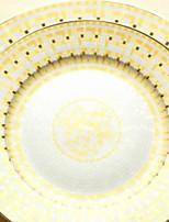 abordables -1 pièce Porcelaine Créatif / Résistant à la chaleur Assiettes, Vaisselle