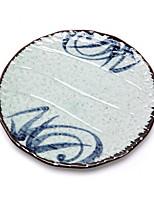 abordables -1 pièce Céramique Créatif / Résistant à la chaleur Assiettes, Vaisselle