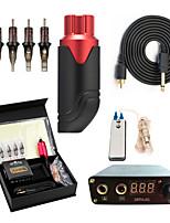 baratos -Máquina de tatuagem Kit de tatuagem profissional - 1 pcs máquinas de tatuagem, Portátil / Profissional / Tudo em um Liga de Alúminio 1xMáquina Tatuagem rotativa para linhas e sombras