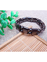 cheap -Men's Beads Nugget Link Bracelet - Creative Simple, Geometric Bracelet Black For Gift / Daily