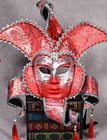 Недорогие -Праздничные украшения Украшения для Хэллоуина Маски на Хэллоуин Декоративная / Cool Красный 1шт