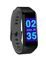 cheap -Smart Bracelet Smartwatch YY-B02 for Android iOS Bluetooth Sports Waterproof Heart Rate Monitor Blood Pressure Measurement Touch Screen Stopwatch Pedometer Call Reminder Activity Tracker