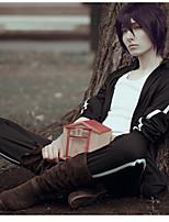 Недорогие -Вдохновлен Noragami Куки-аниме Аниме Косплэй костюмы Косплей Костюмы Аниме Длинный рукав Брюки / Шарф Назначение Муж.