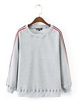cheap -Men's Basic Sweatshirt - Solid Colored