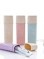 Недорогие -Стакан для зубных щеток Милый / Размер путешествия Обычные пластик 1шт - Чистка организация ванны