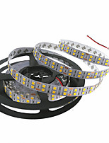 cheap -HKV 5m Flexible LED Light Strips 600 LEDs 5050 SMD Warm White / Cold White Cuttable / Linkable / Self-adhesive 12 V