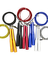 cheap -Jump Rope With 1 pcs Aluminum / Plastic Shell / Wire Adjustable, Durable Crossfit, Weight Loss, Training For Exercise & Fitness / Bodybuilding / Boxing Training Men / Women Home