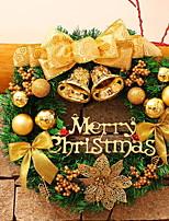 economico -Ghirlande / Ornamenti di Natale Vacanza Plastica Tonda Originale Decorazione natalizia