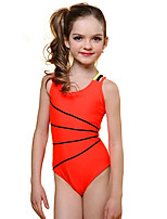cheap -Girls' Rash Guard Dive Skin Suit UV Sun Protection, Quick Dry, Breathable Nylon / Spandex Sleeveless Swimwear Beach Wear Swimwear Swimming / Beach / Water Sports