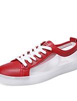 cheap -Men's Mesh Summer Comfort Sneakers White / Red