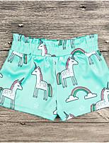 cheap -Kids Girls' Geometric Shorts