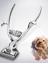 Недорогие -Собаки / Коты Уход Машинки для стрижки и триммеры Влажная чистка / Прочный Серебряный