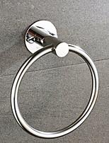 abordables -Barre porte-serviette Design nouveau / Cool Moderne Acier inoxydable / fer 1pc anneau de serviette Montage mural
