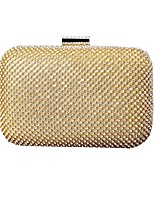 cheap -Women's Bags Alloy Evening Bag Crystals Gold