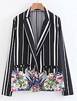 cheap -Women's Basic Blazer-Floral,Print