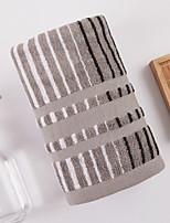abordables -Qualité supérieure Serviette, Géométrique 100% Coton Salle de  Bain 1 pcs