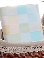 cheap -Superior Quality Bath Towel, Plaid / Check 100% Cotton Bathroom 1 pcs
