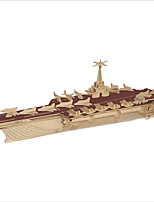 cheap -Wooden Puzzle / Logic & Puzzle Toy Warship / Aircraft Carrier / Weapon School / Professional Level / Stress and Anxiety Relief Wooden 1 pcs Kid's / Teen All Gift