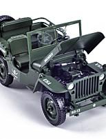 Недорогие -Игрушечные машинки Военная техника Транспорт Вид на город / Cool / утонченный Металлический сплав Все Для подростков Подарок 1 pcs