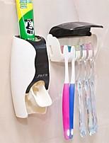 baratos -Caneca de Escova de Dentes Auto-Adesivo Fashion / Modern Plásticos 1conjunto - Ferramentas Escova de Dentes e Acessórios