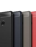 Недорогие -Кейс для Назначение Xiaomi Mi 8 SE Матовое Кейс на заднюю панель Однотонный Мягкий ТПУ для Xiaomi Mi 8 SE