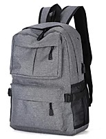 "cheap -Denim Solid Colored Backpacks 15"" Laptop"