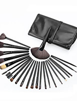 cheap -24pcs Makeup Brushes Professional Make Up Nylon Brush Full Coverage Wooden / Bamboo
