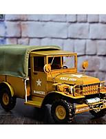 Недорогие -Игрушечные машинки Военная техника Грузовик / Транспортер грузовик моделирование / утонченный Металл Все Дети / Для подростков Подарок 1 pcs