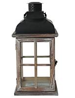 Недорогие -Модерн деревянный Подсвечники Канделябр 1шт, Свеча / подсвечник