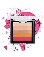 billiga -Makeup 5 färger Ögonskuggor Öga Glittrig / varaktig Bärbar Andningsfunktion Hållbar Vardagsmakeup / Festmakeup Smink Kosmetisk