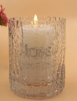 cheap -European Style Glass Candle Holders Candelabra 1pc, Candle / Candle Holder